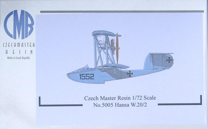 hansa brandenburg w 20 2 czech master resin 1 72. Black Bedroom Furniture Sets. Home Design Ideas