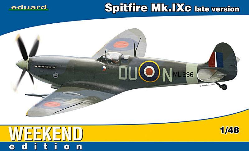 Spitfire Mk Ix C Late Version Eduard 1 48