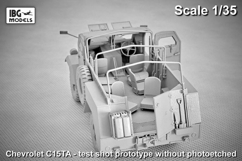 Ta Truck Service >> Chevrolet C15TA Armoured Truck - IBG MODELS - 1/35