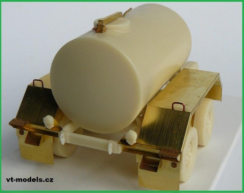 Water Tank Trailer >> M1112 Water Tank Trailer - MMK - 1/35