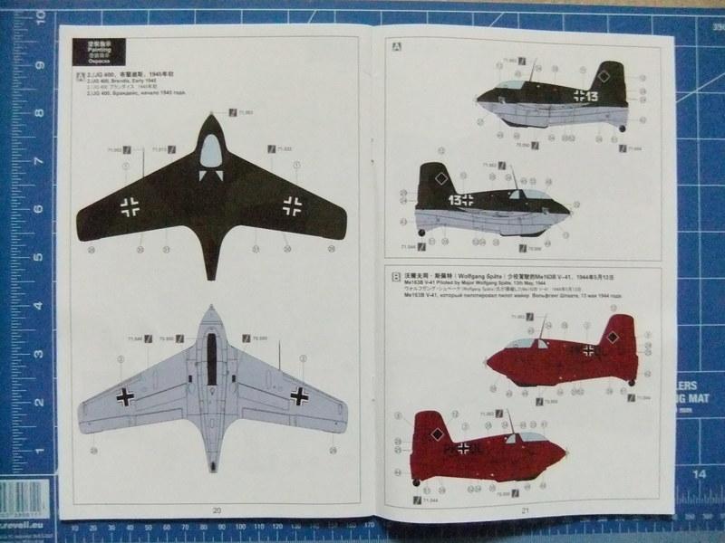 Me 163B Komet - Hasegawa - 1/32 (FINI) - Page 2 Meng_Me163B_09