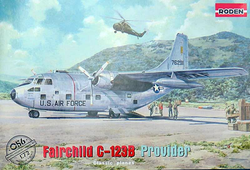 Fairchild C 123b Provider Roden 1 72