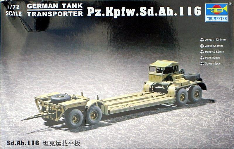 German Tank T Ransporter Sd.Ah.116
