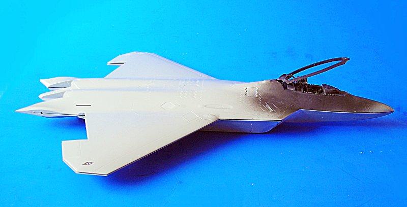 Aeroscale :: lockheed f 22a raptor   1/48 academy