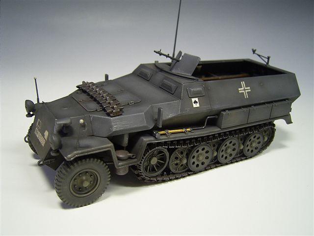 Der neue dragonbausatz des sd kfz 251 c ist im wesentlichen ein klasse